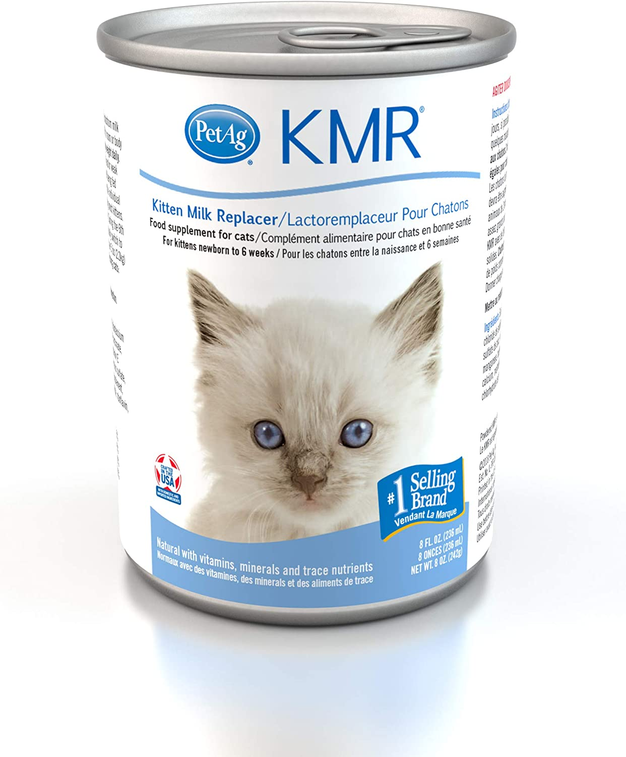Kmr Liquid Milk Replacer For Cats 8 Ounce Amazon Co Uk Pet Supplies