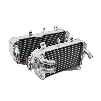 TARAZON MX Radiadores para Honda CRF450R 2017 CRF 450 R Aluminio Core Motor Agua Refrigeración Izquierda
