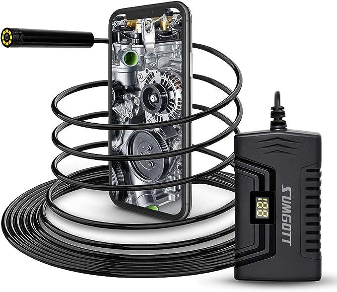 45 opinioni per sumgott Endoscopio WiFi, 1080P Full HD Telecamere di ispezione, Telecamera