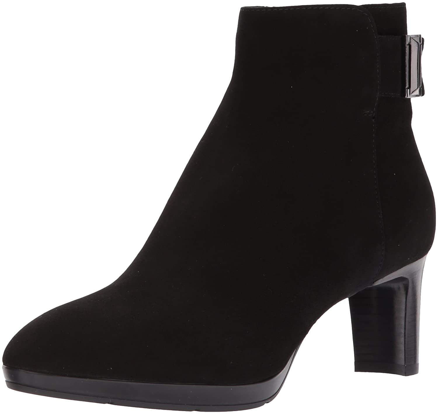 Aquatalia Women's Daniella Suede Ankle Boot B06XP2YN5B 12 M M US|Black