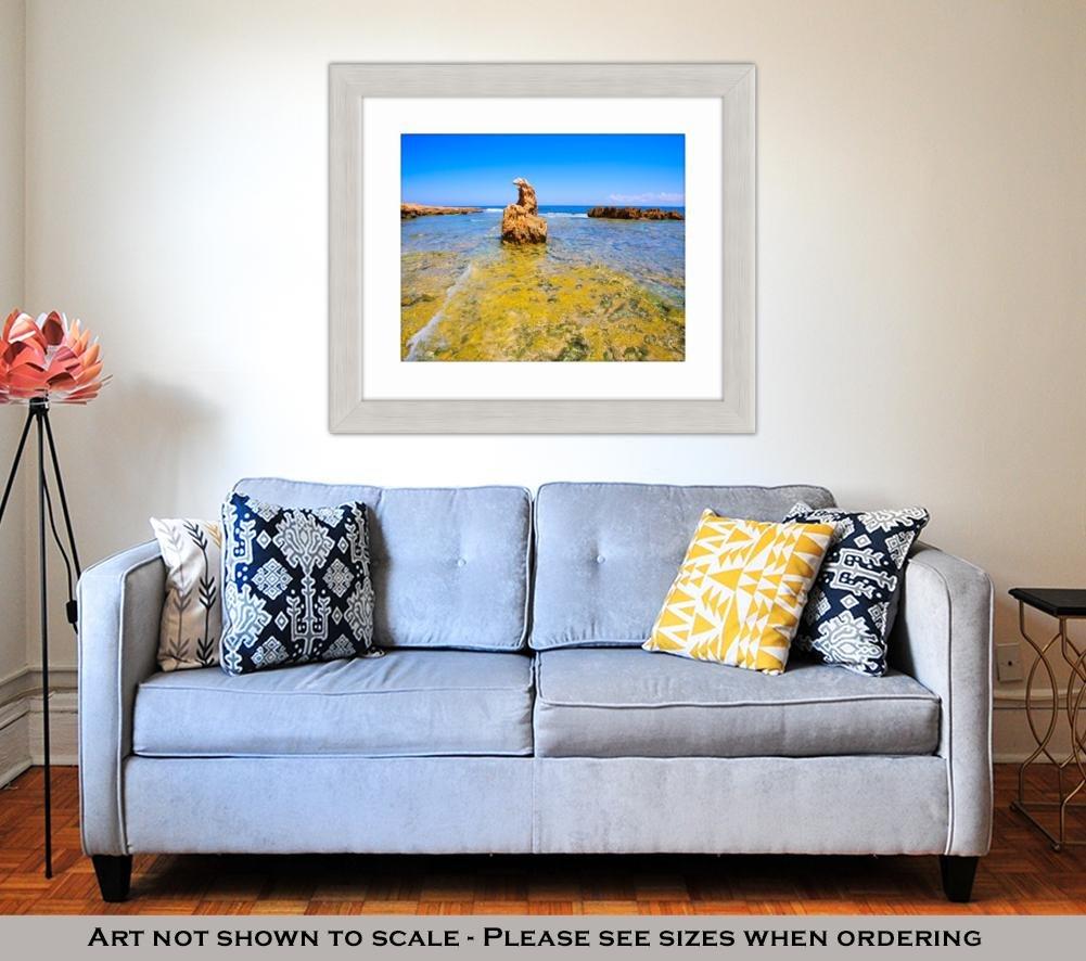 Amazon.com: Ashley Framed Prints Denia Alicante Las Rotas ...