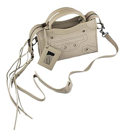 8a187d16c0 Amazon.com : Balenciaga Grix Chartreaux Blackout City Mini Bag : Baby