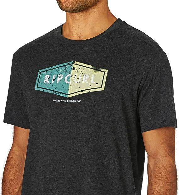 RIP CURL Losange Logo Camiseta, Hombre: Amazon.es: Deportes y aire ...