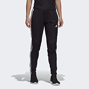 e2a25c6d57d8a Amazon.com: adidas Women's T10 Pants, Black/White, X-Small: Clothing