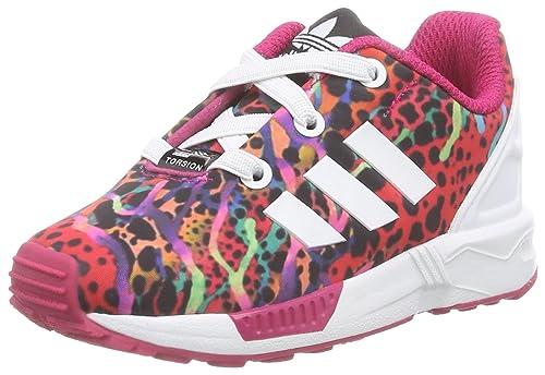 best cheap 85f3d ad6e4 adidas ZX Flux El, Sneaker Unisex – Bimbi 0-24, Rot Ftwr White