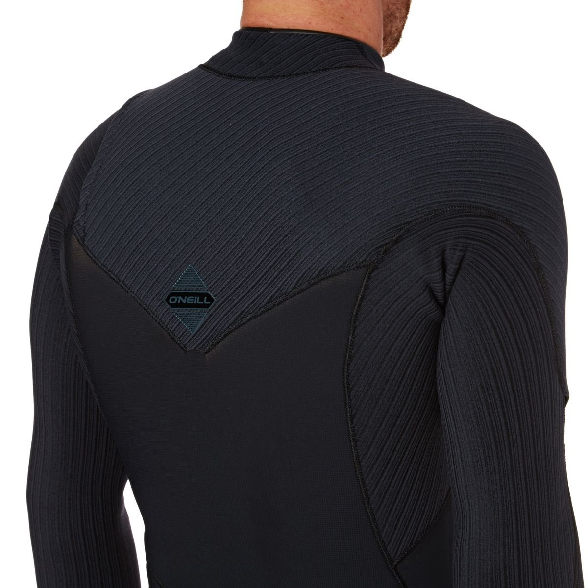 O;Neill Hyperfreak 5 Easy Stretch /& Lightweight 4MM Winter Kaltwasser Winterk/älte Brust Zip GBS Neoprenanzug Schwarz