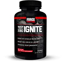Test X180 Ignite Free Testosterone Booster to Increase Sex Drive & Libido, Burn...