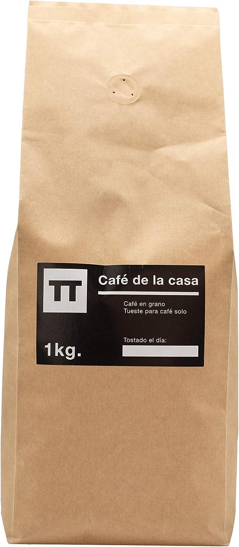 Cafe en grano Natural Arabica 100 % 1kg - Espresso - Cafe de la Casa - Tusell Tostadores: Amazon.es: Alimentación y bebidas
