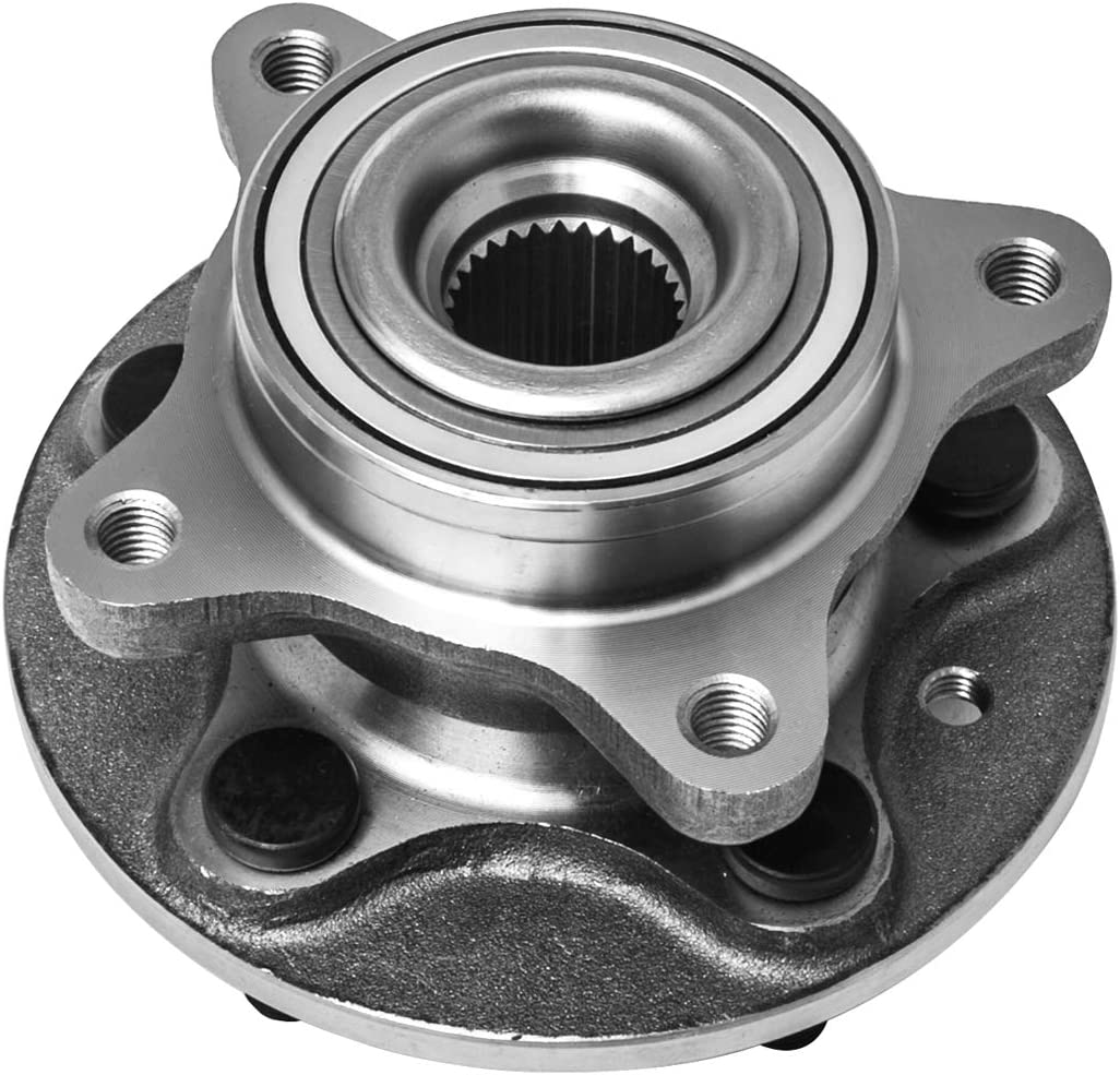 Front Wheel Hub and Bearing Assembly Left or Right Compatible Land Rover LR3 LR4 Range Rover Sport AUQDD 515067 5 Lug
