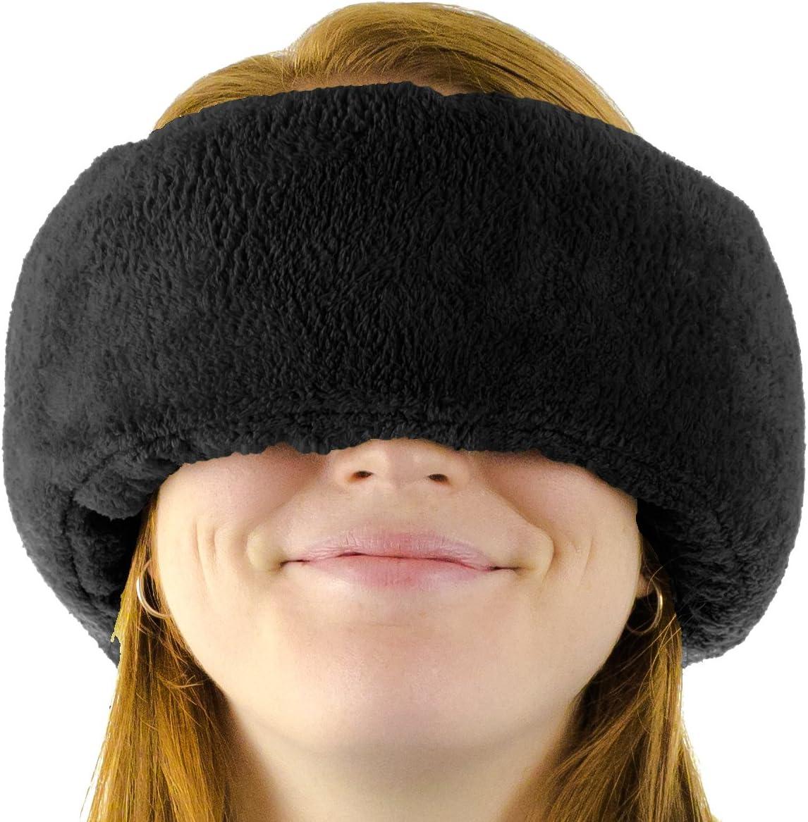 Wrap-a-Nap Travel Pillow, Sleep Mask & Ear Muff