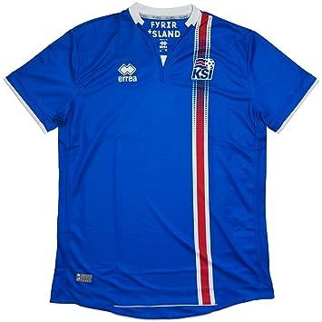 2016-2017 Iceland Home Errea Football Shirt d44b3fc38