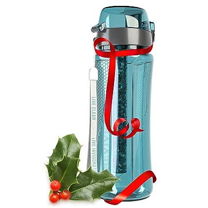 ph revive alkaline water filter bottle & carry case – water purifier ...