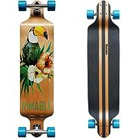 RIMABLE Canadian Maple Drop Deck Longboard