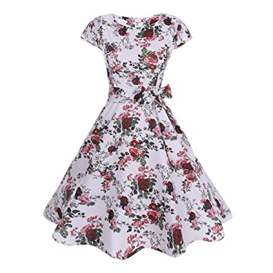 50139633c1 Pingtr Women Vintage Rockabilly Dresses