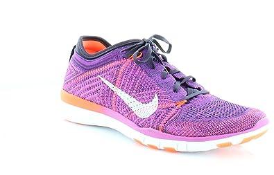 buy popular 5216a 6b452 Nike Womens Free TR 5 Flyknit Lightweight Running, Cross Training Shoes  Purple