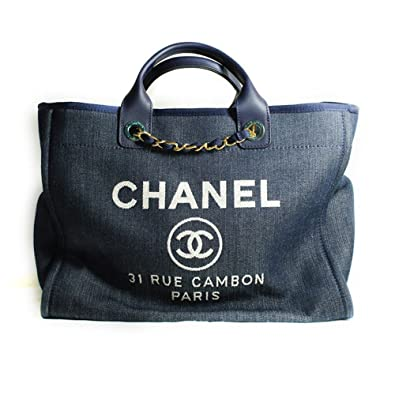 3c78bf166dc9 Amazon.com: [CHANEL] 2014P Deauville Canvas Large Tote Bag: Shoes