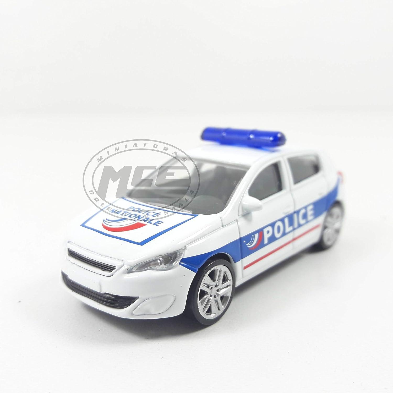 Desconocido 1//64 Peugeot 308 Police Nationale NOREV Die Cast NOREV