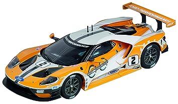 Amazon Com Carrera  Evolutionog Slot Car Racing Vehicle Ford Gt Race Car No   Scale Toys Games