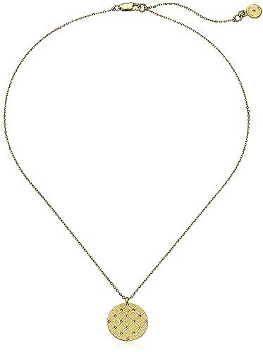 Amazon michael kors mk etched monogram disc gold pendant amazon michael kors mk etched monogram disc gold pendant necklace jewelry mozeypictures Choice Image