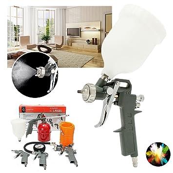 5pcs kit herramienta para accesorios 1/4inch pulverizadora pintura Compresor De Aire Manguera de aire
