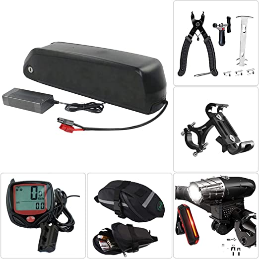 36V17.5Ah Caja de soporte batería litio para bicicletas eléctricas ...