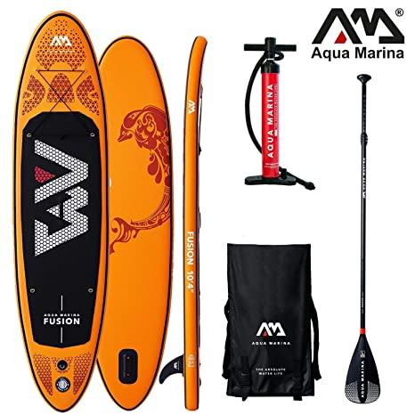 AQUA MARINA FUSION SUP hinchable Stand Up Surf Paddle Board ...