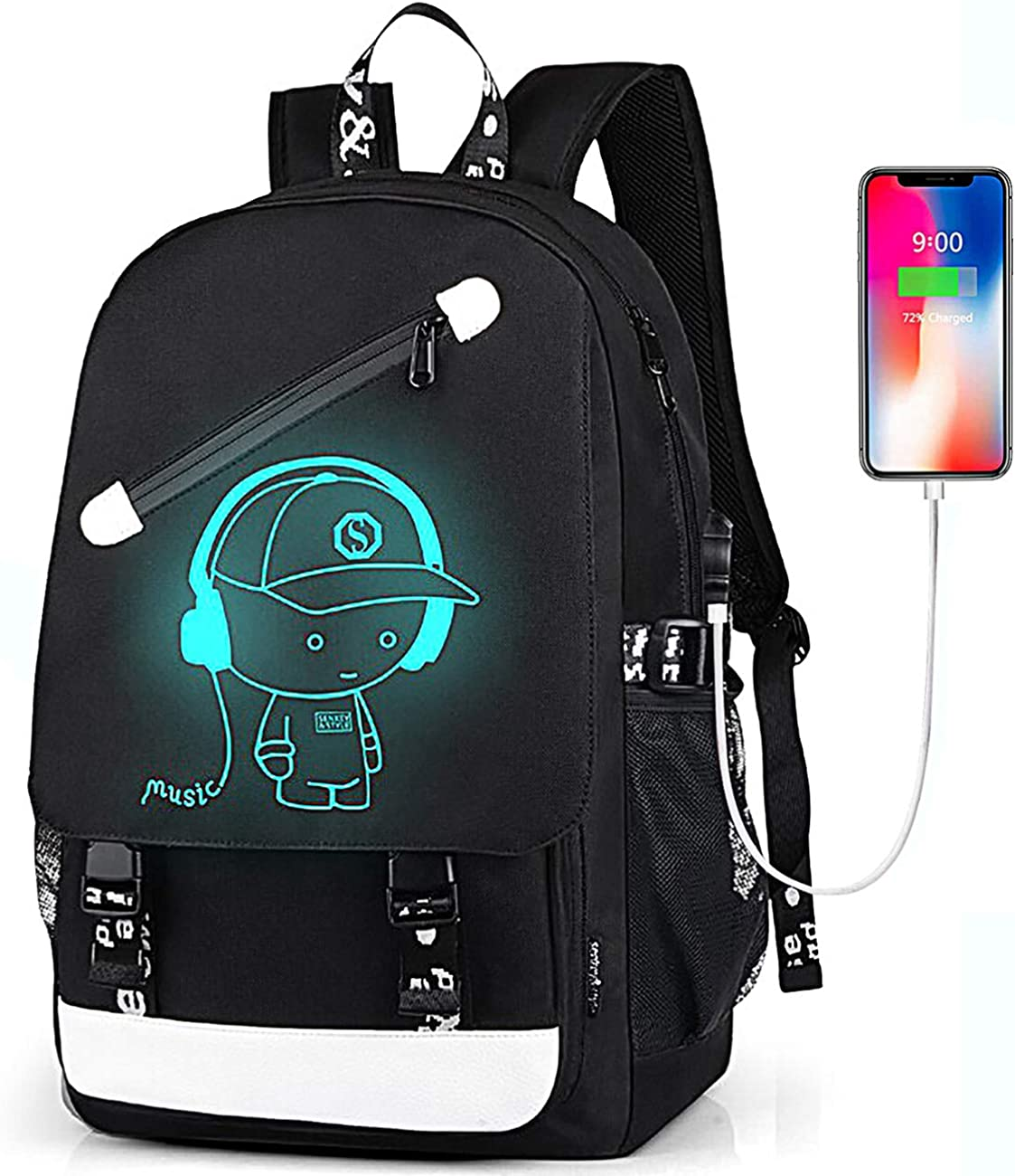 Anime Backpack Laptop Backpack