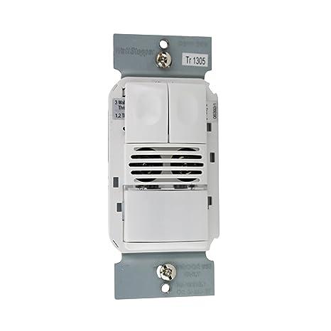 wattstopper dsw-200-w Dual Tech – Detector de movimiento, color blanco