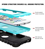 MoKo Case for iPod Touch 6 / iPod Touch 5, 3 in 1