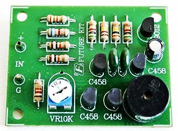Amazon low battery alarm sensor car 12vdc project kit diy low battery alarm sensor car 12vdc project kit diy electronic circuit kit fa915 publicscrutiny Choice Image