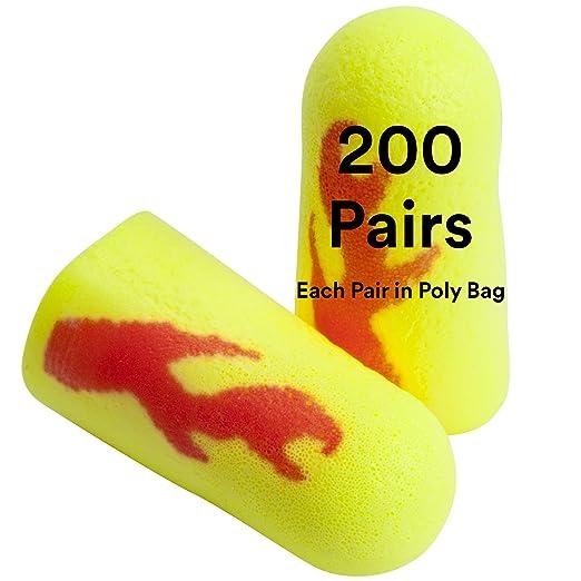 EP03CD Corded Metal Detectable Blue PU Foam Ear Plugs Dispenser Box of 200 UC