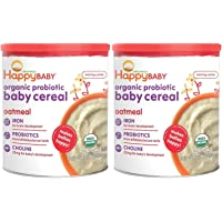 Happy Bellies Avena cereal para bebé, 7 onzas