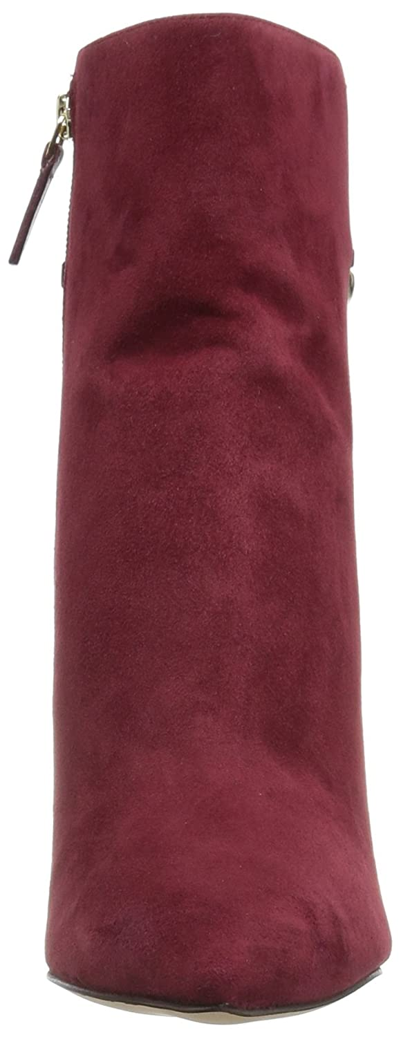 Nine West Women's Tyronah Suede Ankle Boot B01N6AT5FF 10 B(M) US|Wine