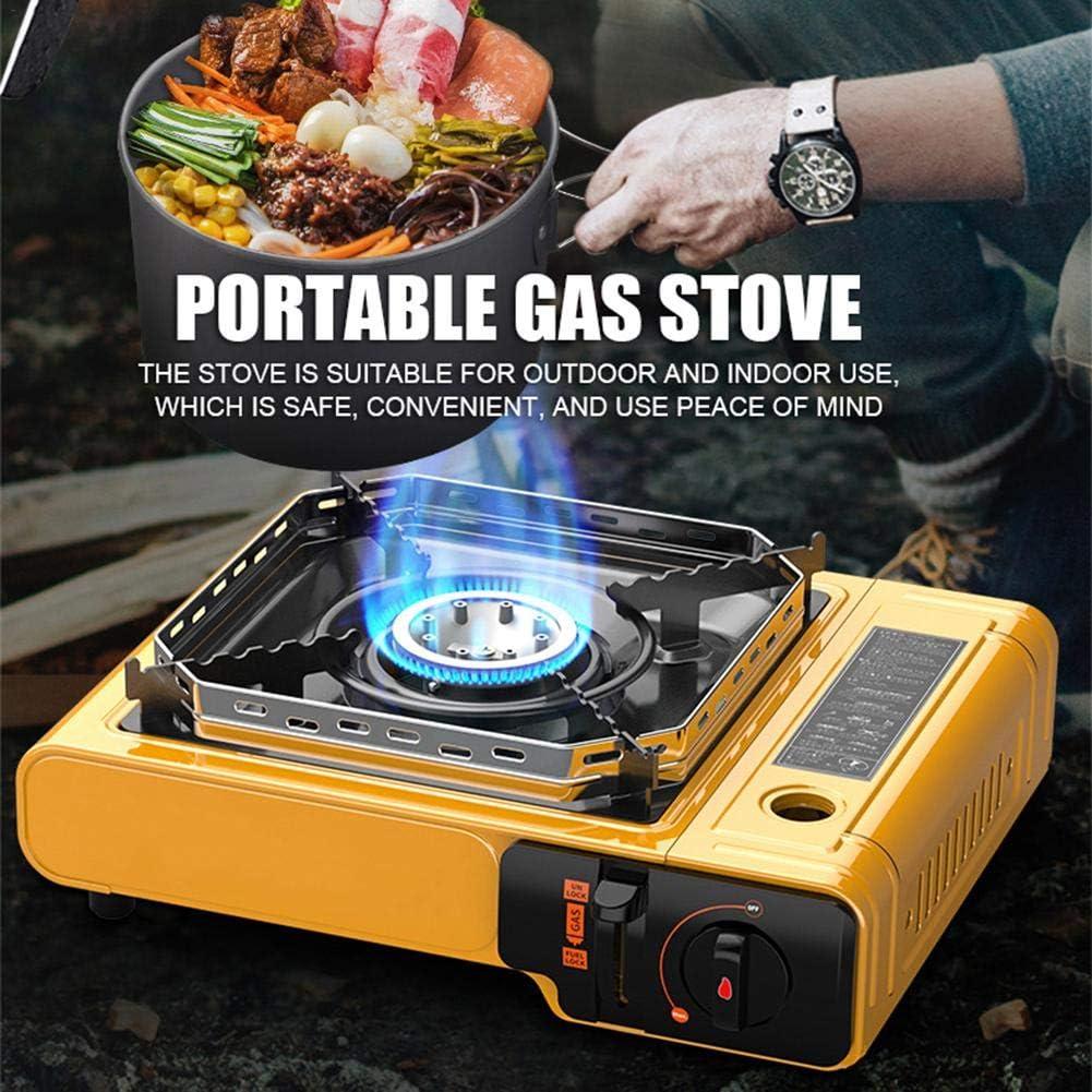 heling896 - Cocina de Camping portátil con Cartucho de Gas de ...