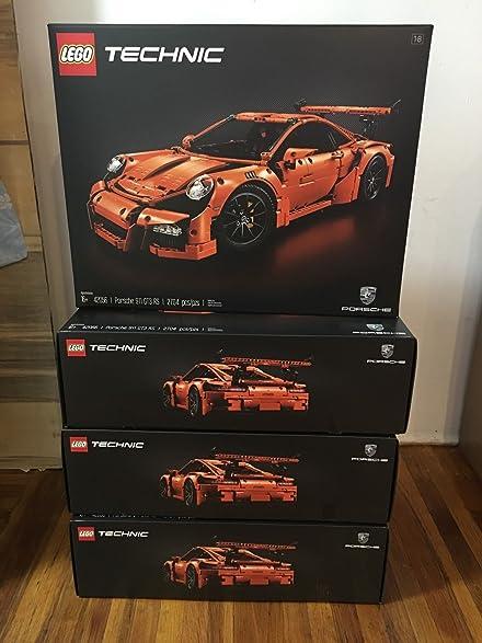 Amazon.com: New Lego Technic Porsche 911 GT3 RS (42056) - Ready to ...