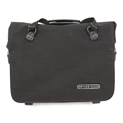 Amazon.com: Ortlieb ql2.1 Oficina Bolsa: Negro, Md: Sports ...