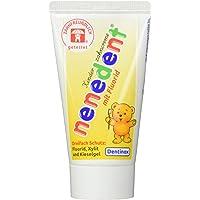nenedent Kinderzahncreme mit Fluorid, 50 ml [Badartikel] [Health and Beauty]