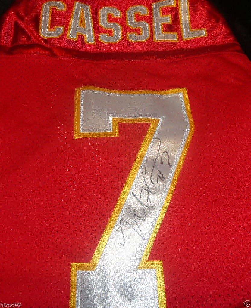 MATT CASSEL SIGNED KANSAS CITY CHIEFS AWAY JERSEY USC TROJANS ...