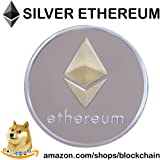 "Ethereum Coin - Gold & Silver Plated ""Cryptocurrencies You Hold"""