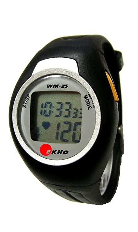Amazon.com: Ekho – WM-25 Heart Rate Monitor Reloj: Sports ...