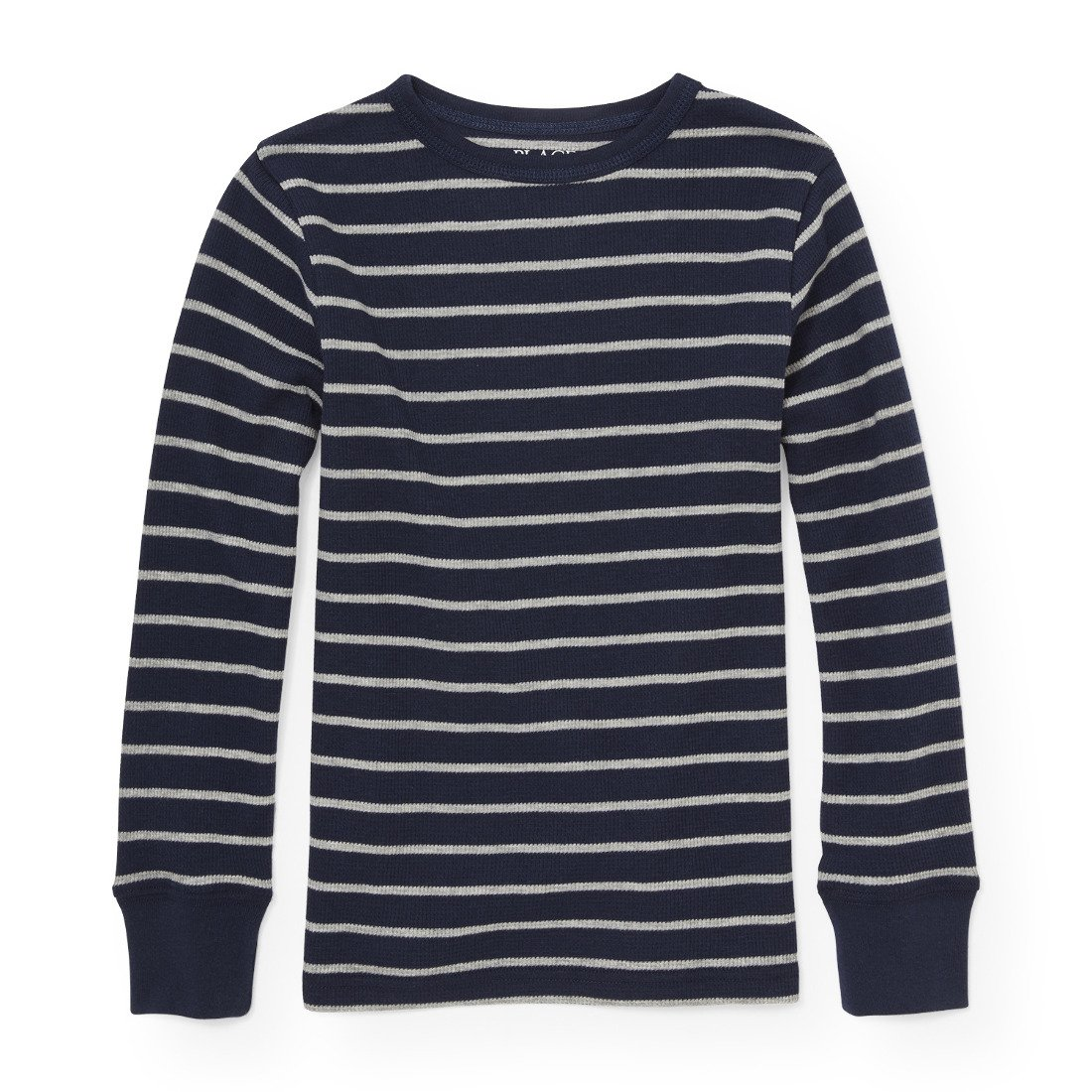 The Childrens Place Big Boys Stripe Thermal Tee