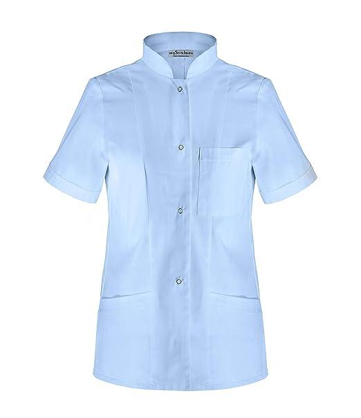 myscrubs Delantal Médico Corto para Mujer Costura Uniforme ...
