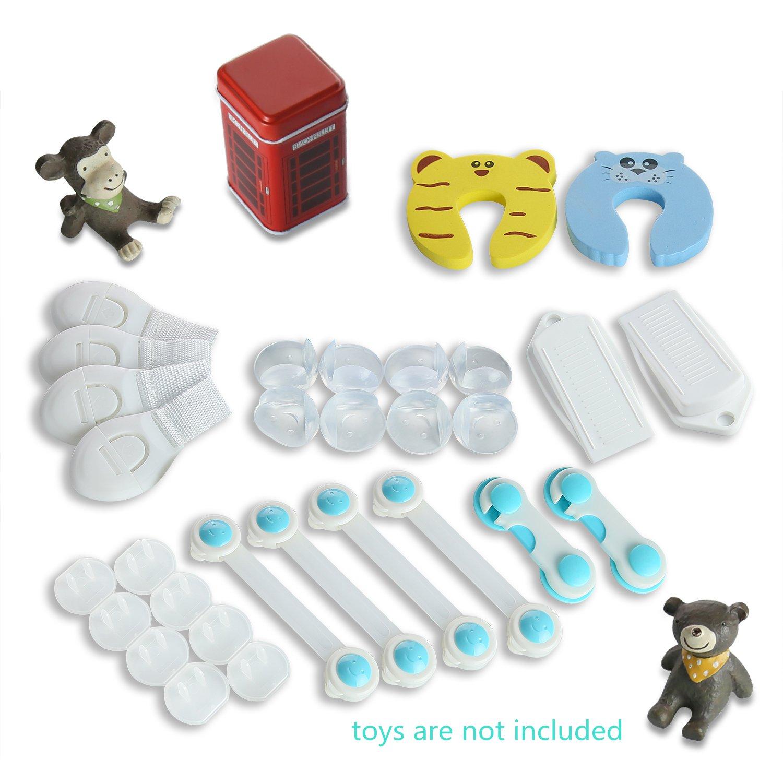 高級品市場 ベビー安全校正kit|drawerロック&テーブルコーナー&ドアStops & ACプラグソケットcovers|babyシャワーgifts|babyレジストリギフト & Pack 2 Pack Pack B01N3XB5E5 2 B01N3XB5E5, アズママチ:18149d12 --- application.woxpedia.com
