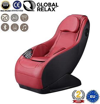 GURU® Sillón de masaje y relax - Rojo (modelo 2019) - 3 ...