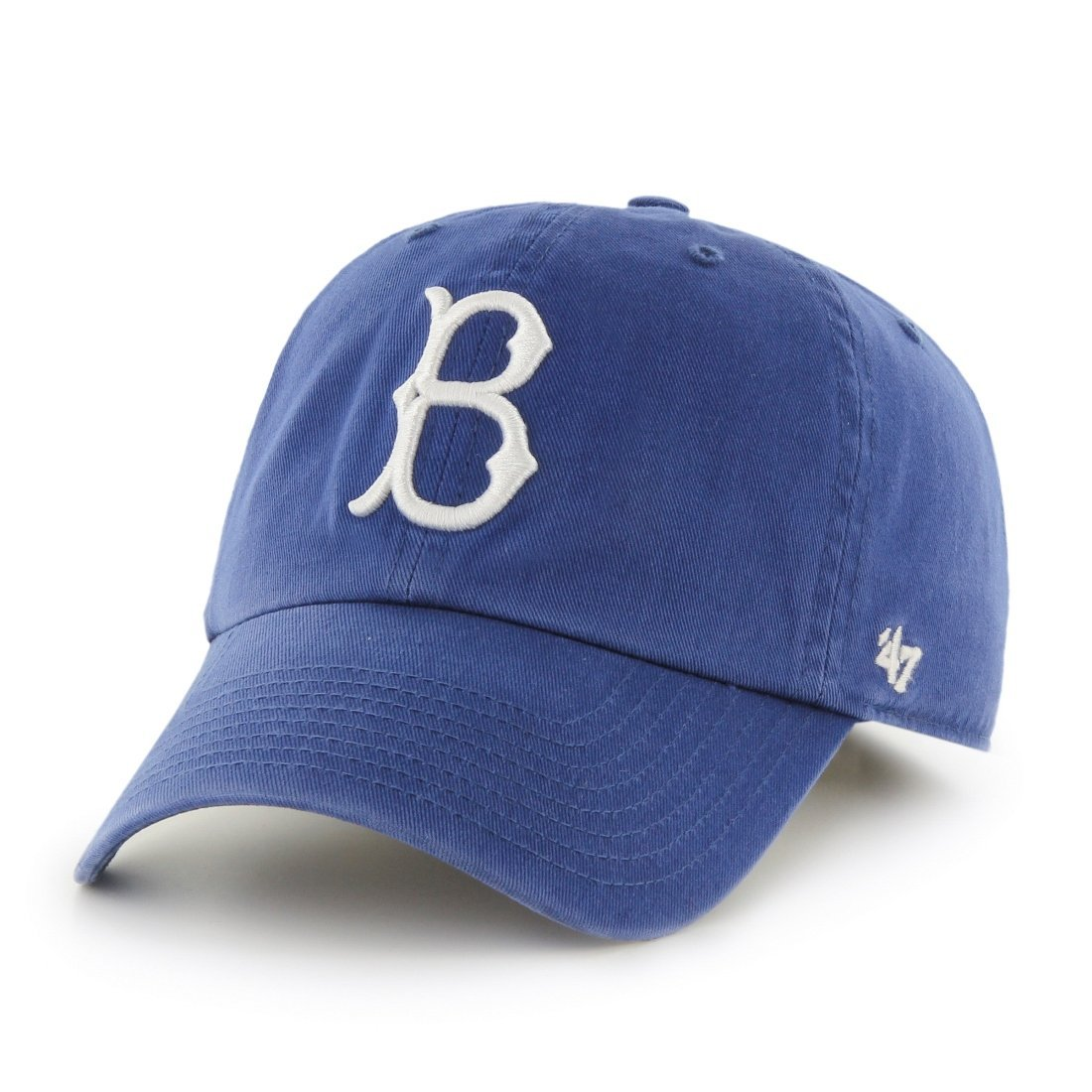 Brooklyn Dodgers 47 Brand MLB 'Cooperstown' Clean Up Adjustable Hat - Royal Blue
