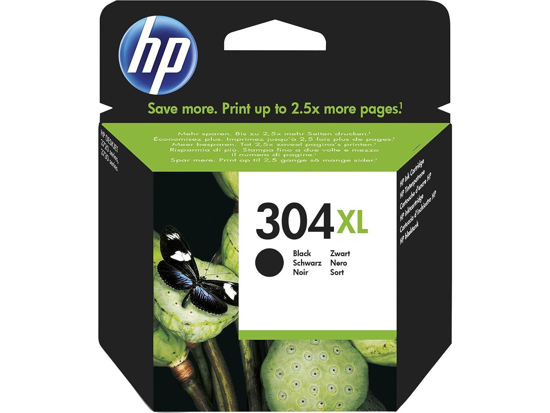 HP 304XL Black Original 8.5ml 300páginas Negro cartucho de tinta ...