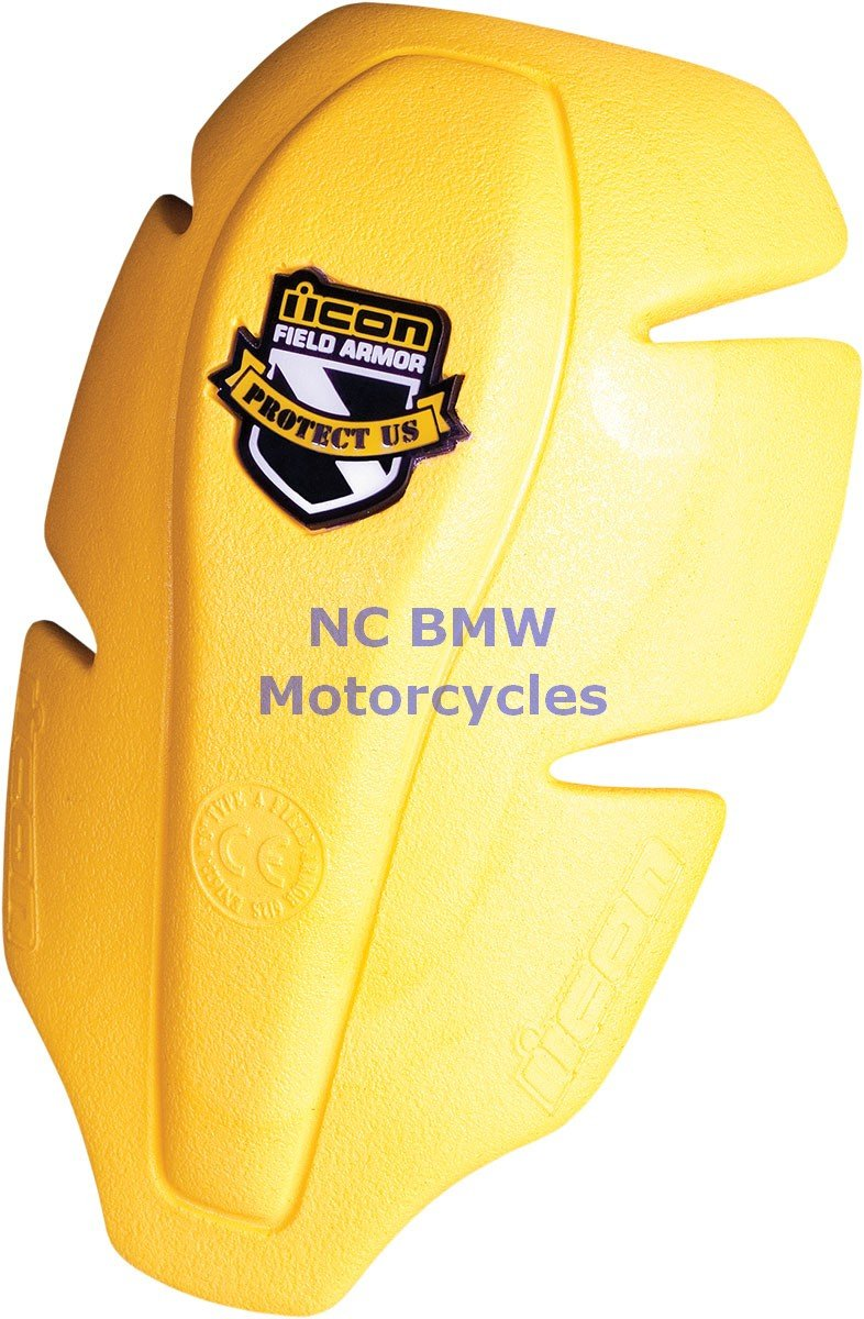 Icon Women's Replacement Field Armor Shoulder Impact Protector - Yellow