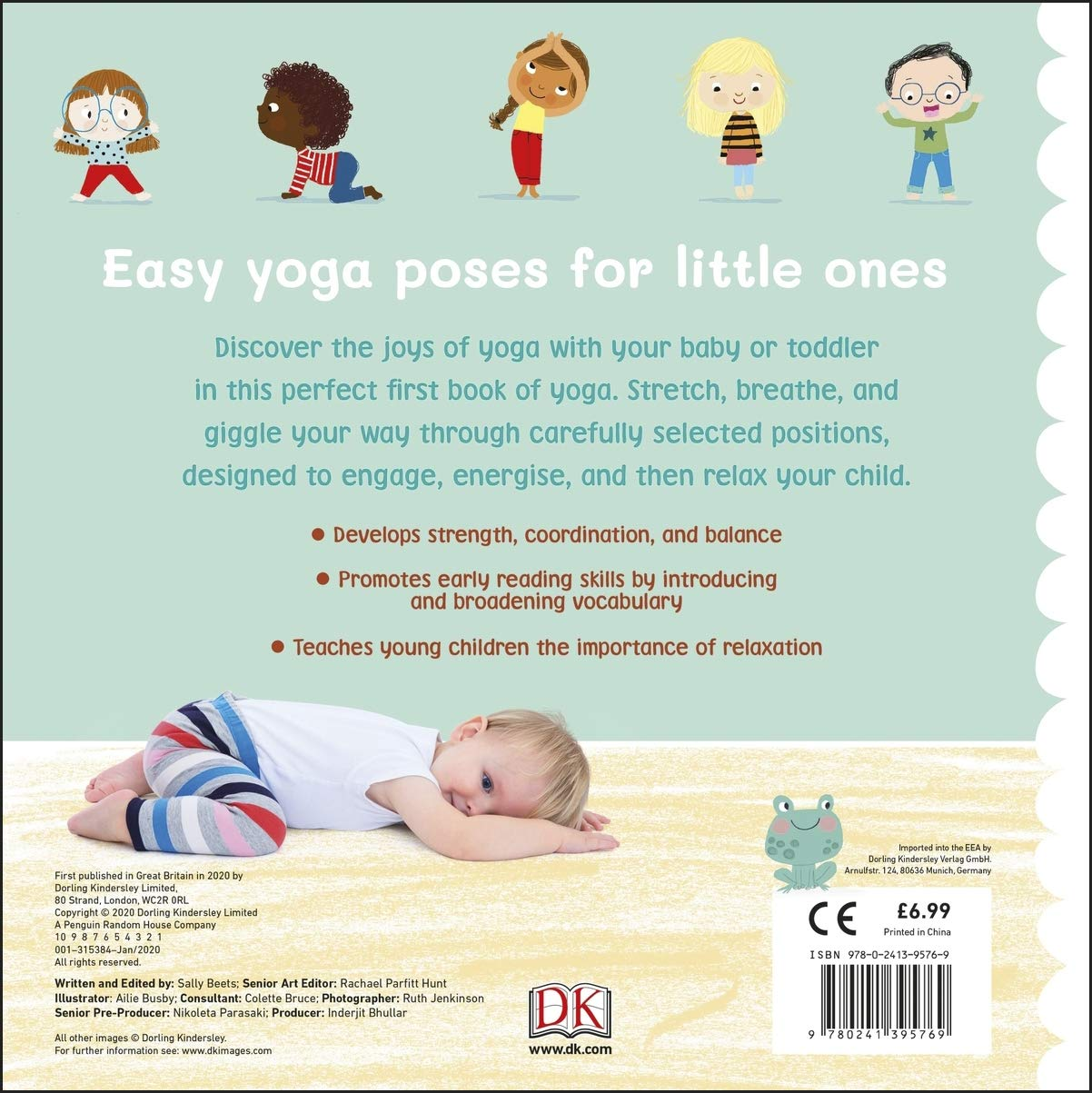 My First Yoga Fun And Simple Yoga Poses For Babies And Toddlers Dk 9780241395769 Amazon Com Books