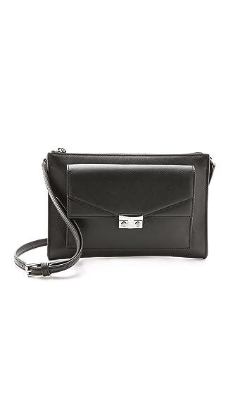 6379e7ae9a23 ... cheap tory burch womens t lock mini cross body bag black one size 9c907  727d4