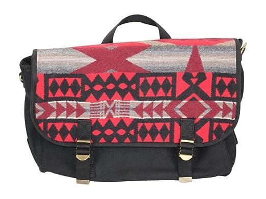 d00bcbb83e Amazon.com  Pendleton Unisex Messenger La Paz Scarlet Crossbody Bag ...